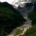 Landslides At Mount Rainier by LeLa Becker