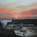 Lanes Cove Sunset by Eileen Patten Oliver