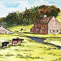Lanesboro Barn by Susan Crossman Buscho