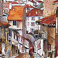 Laneways Of Nerac by Shirley  Peters