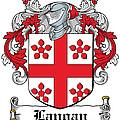Langan Coat Of Arms Irish by Heraldry