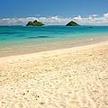 Lanikai Beach 2 - Oahu Hawaii by Brian Harig
