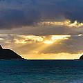 Lanikai Beach Sunrise Panorama 2 - Kailua Oahu Hawaii by Brian Harig