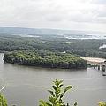 Lansing Bridge Panoramic by Bonfire Photography