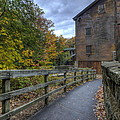 Lanterman's Mill In Fall by David Dufresne