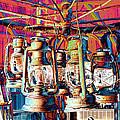Lantern Chandelier 02 by Sylvia Thornton