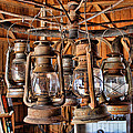 Lantern Chandelier by Sylvia Thornton