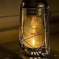 Lantern On Granite by Jeffrey Miklush