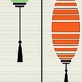 Lanterns 1 by Donna Mibus