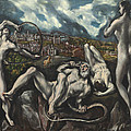 Laocoon by Domenico Theotocopuli El Greco
