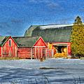 Lapeer County Barns by Dean Wittle