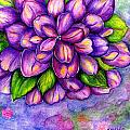 Large Flower by Nancy Wagener