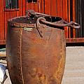 Large Mining Bucket by Phyllis Denton