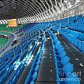 Large Modern Sports Facility by Yali Shi