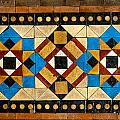 Large Mosaic Floor Tiles by Chay Bewley