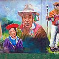 Large Mural In Cusco Peru Part 6 by Ralf Broskvar