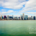Large Picture Of Downtown Chicago Skyline by Paul Velgos