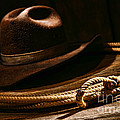 Lariat And Hat by Olivier Le Queinec