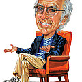 Larry David by Art