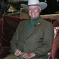 Larry Hagman by Nina Prommer