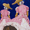 Las Charras Rosadas by Pat Haley