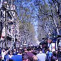 Las Ramblas - Barcelona Spain by Jon Berghoff