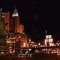 Las Vegas At Midnight by Susan Wyman