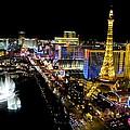 City - Las Vegas Nightlife by Kip Krause