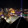 Las Vegas Night Pano by Jim Robbins