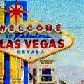 Las Vegas Sign by Dan Sproul