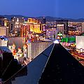 Las Vegas Skyline by Brian Jannsen