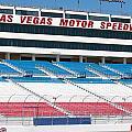 Las Vegas Speedway Grandstands by Gunter Nezhoda