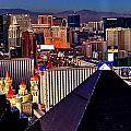 Las Vegas Sundown by Benjamin Yeager