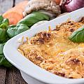 Lasagne In A Gratin Dish by Handmade Pictures