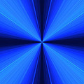 Laser Blue Light by Nenad Cerovic