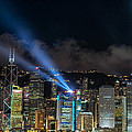 Laser Show In Hk by Thierry CHRIN