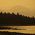 Lassen Sunset by Sherri Meyer