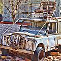 Lasseter Land Rover by Douglas Barnard