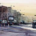Last Light - College Ave. by Ryan Radke