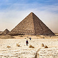 Last Of The Great Pyramids In Egypt by Mark Tisdale