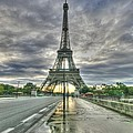 Last Parisian Glow by David Valentyne