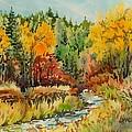 Latah Creek Fall Colors by Lynne Haines