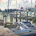 Late Afternoon In Virginia Harbor by Ylli Haruni