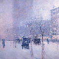 Late Afternoon - New York Winter by Mountain Dreams