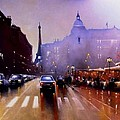Late Afternoon Paris by Tony Gittins