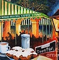 Late At Cafe Du Monde by Diane Millsap