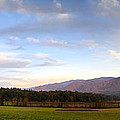 Late October Dusk At Cades Cove by Steve Samples