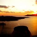 Late Sunset Santorini  Island Greece by Colette V Hera  Guggenheim