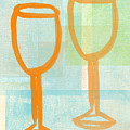 Laugh and Wine by Linda Woods