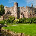 Laugharne Castle by David Ross